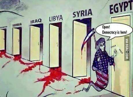 USA-democraty-libya-syria-