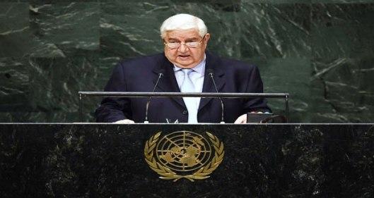 Al-Moallem-UN-speech