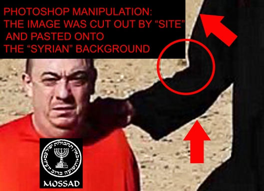 Fraud beheadings of Americans by Mossad agents