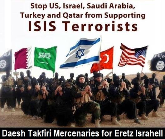 Daesh Takfiri Mercenaries for Eretz Israhell