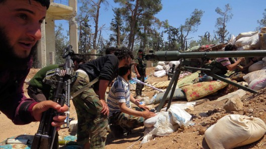 moderate terrorists in Syria are armed and funded by US regime