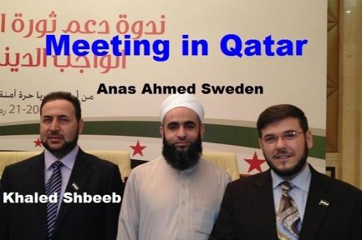 Khaled Shbeeb Anas Ahmed Sweden in qatar