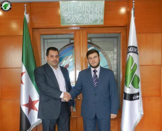 Syrian lawyer Bassam pallet