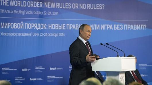 24 October 2014_ Russian President Vladimir Putin