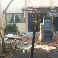 Homs, Syria: Obama's moderate terrorists killed 18 civilians, mostly children, and over 40 injured, in two bomb attacks