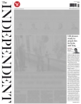 The Independent 21 October 2014