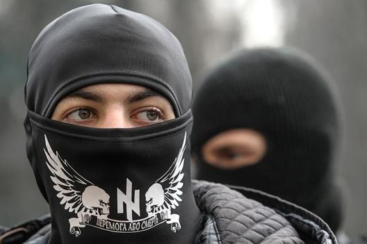 Ukrainian far-right radical Right Sector