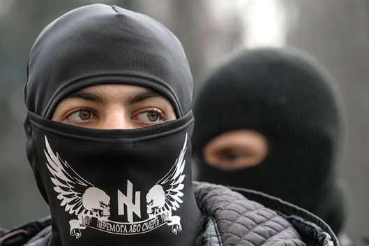 Ukrainian far-right radical Right Sector