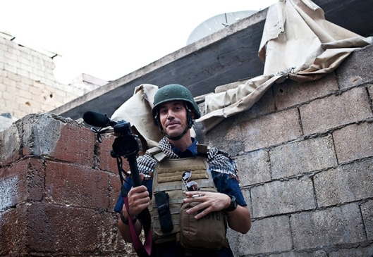US freelance reporter James Foley