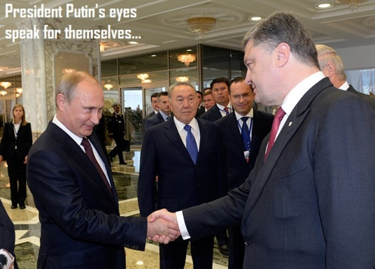 Vladimir Putin-Petro Poroshenko-Minsk 26-8-2014-titled
