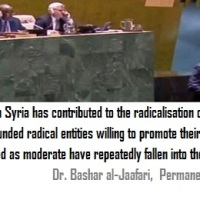 Arab and Western Govs. support terrorism in Syria: UN Document of shocking accounts on Da'esh (ISIS) armed group +++ Strong response by Bashar al-Jaafari to the presenters of the resolution L.31, which the most ardent supporters are Qatar and Saudi Arabia ~ (Eng-Fra-Arabic)