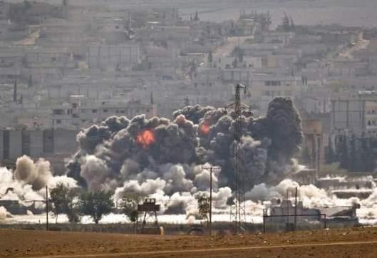 Fighting-at-Kobani