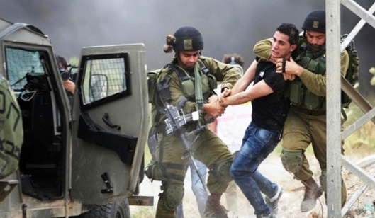Palestinian arrested by IOF