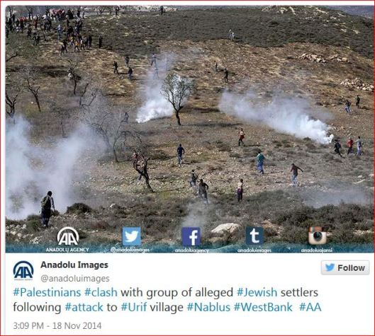 Palestinians-clash-with-Jewish-settlers