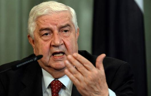 Syrian Foreign Minister Walid al-Muallem-20141106
