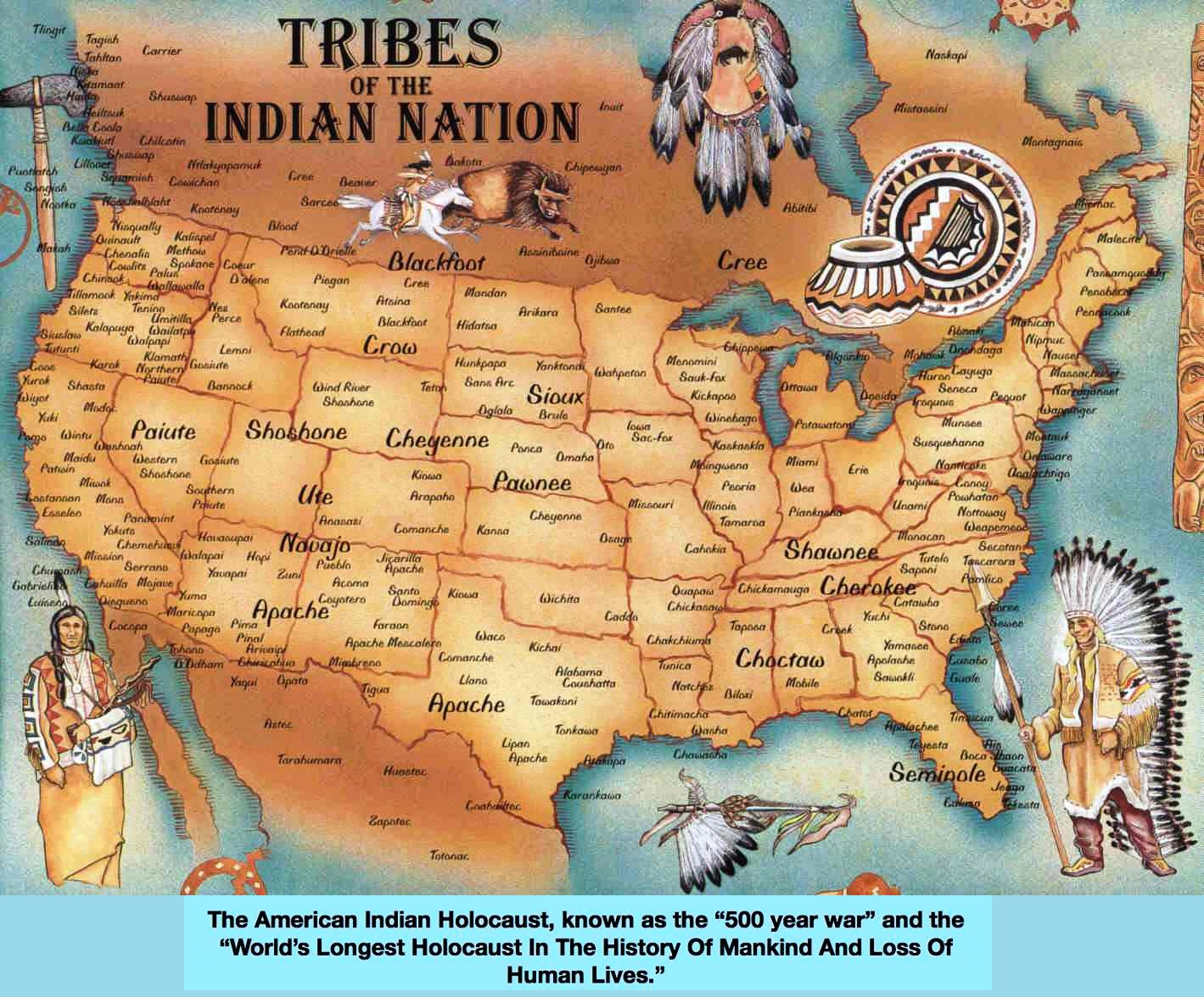 Thanksgiving: Celebrating the Genocide of Native Tribes | the real ...