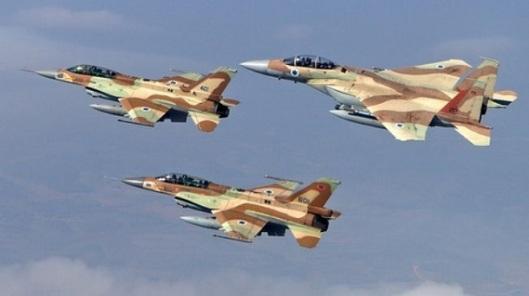 Israel-Air-Strike-Syrian-Territory