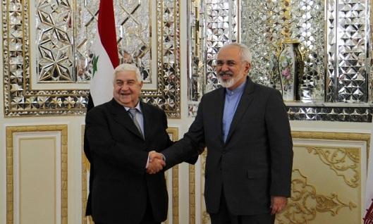 Walid al-Moallem - Ali Larijani-6-640