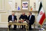 Walid al-Moallem - Ali Larijani-640x440