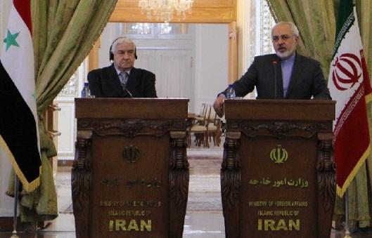 Walid al-Moallem - Ali Larijani-7-640