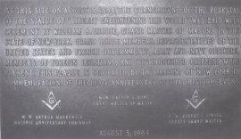 Liberty-Freemason-Plaque