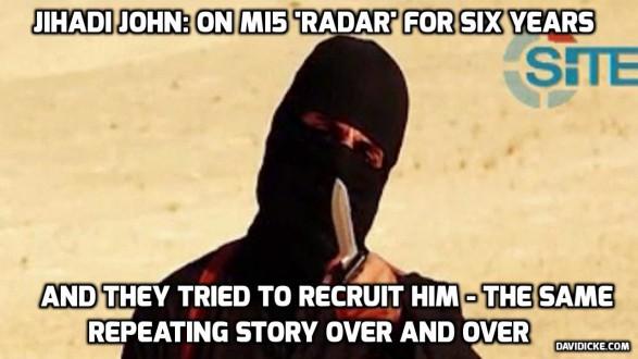 jihadi john had been on mi5 s radar for 6 years so how