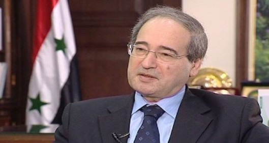 Deputy Foreign and Expatriates Minister Fayssal Mikdad