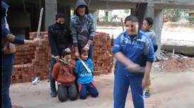 egyptian-children-mock-isis-beheading