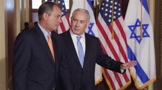 House Speaker John Boehner with Israeli Prime Minister Benjamin Netanyahu