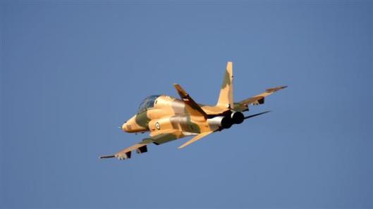 iran-supersonic trainer Saeqeh 2 fighter jet-2