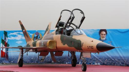 iran-supersonic trainer Saeqeh 2 fighter jet-3