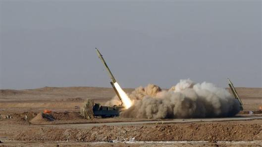 manufactured Iranian missile