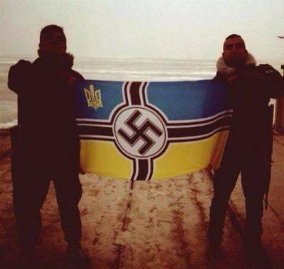 neo-Nazis are part of the Ukrainian armed forces