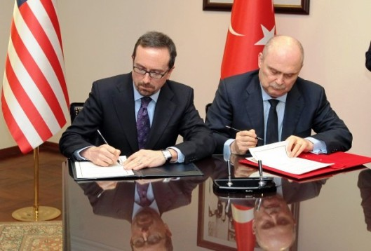 Turkey- US ink deal to train-equip Syrian moderate terroristic opposition