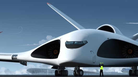 Artist concept of future Russian Special Purpose Aircraft