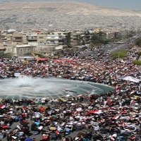 Flashback to 2011: Over 6 million people marched across Syria in support of President Assad