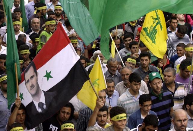 Hasil gambar untuk hezbollah syria
