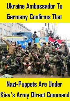 Kiev USA Nazi Puppets