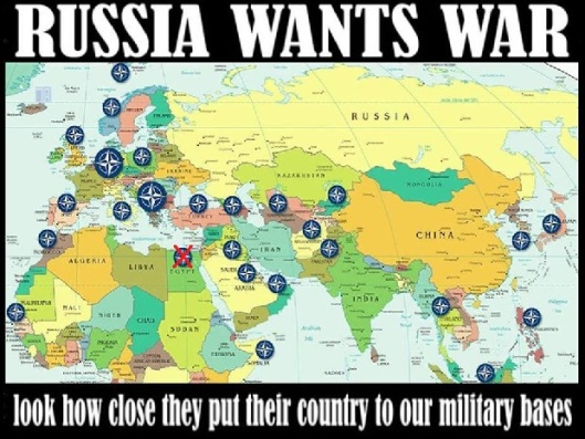 "USA drills on Russian borders: Despite condemning Russian military manoeuvers (in its own land), USA-NATO conduct War Games in the Baltic states, creating a ""line of troops"" across Eastern Europe"