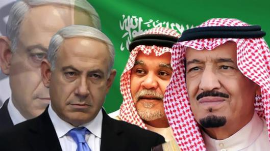 Salman bin Abdulaziz Al Saud-Saudi Prince Bandar bin Sultan-Benjamin Netanyahu-from-R-to-L
