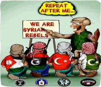 Afbeeldingsresultaat voor syria war crime cartoon