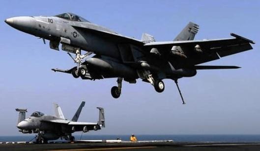US Warplanes Strike Iraqi Popular Forces