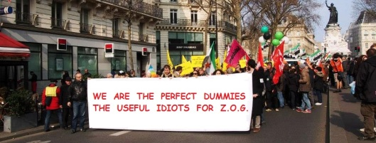 USEFUL IDIOTS FOR ZOG