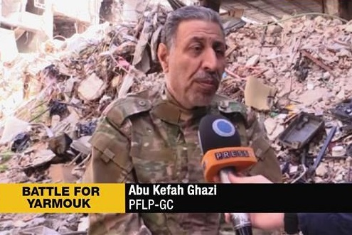 Abu Kefah Ghazi-Battle for Yarmouk