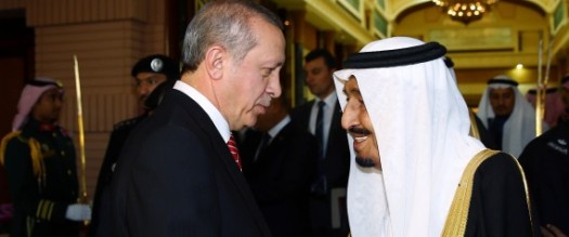 Turkish President Erdogan in Saudi Arabia
