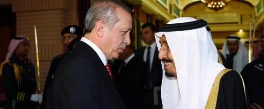 Turkish President Erdogan in Saudi Arabia