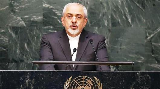 Iran Foreign Minister Mohammad Javad Zarif