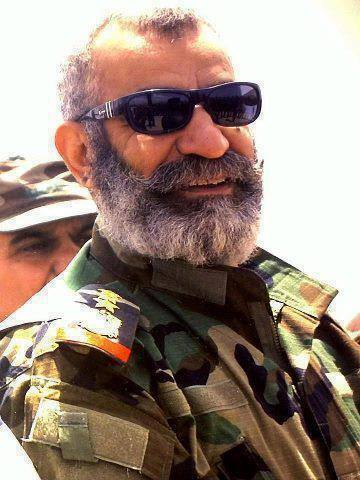 Major General Issaam Zahreddeen, of the Syrian Republican Guard, one of our most popular heroes
