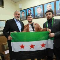 Hamas' Meshaal (who is not a resistance fighter) is trying to wrest control of Yarmouk, like Idlib, from the Syrian Government for NATO [Reports by Brian Haw]