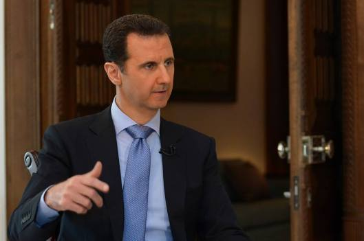 President al-Assad to France 2 TV-4